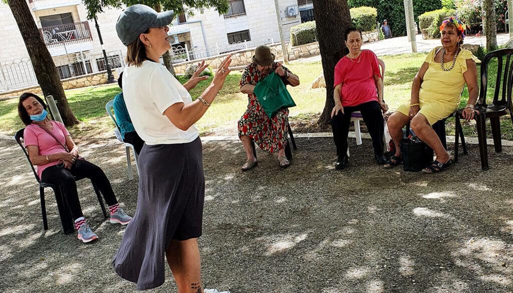 אימון אישי לגיל השלישי | דפנה סלוק ביבי